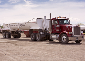 End Dump Truck Rental Fleet