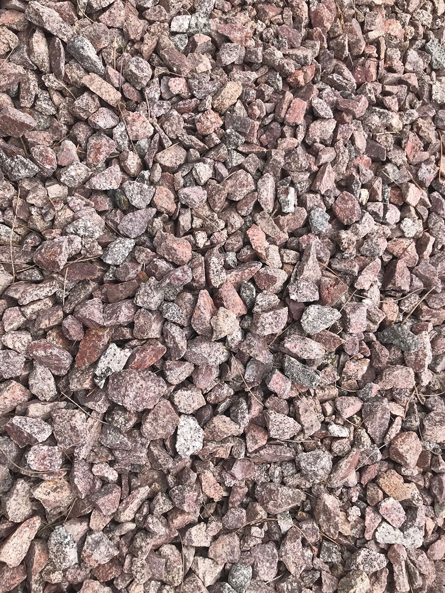 Arizona Red is granite that is naturally red in color with a unique blend  of taupe - Tucson Landscaping Rocks & Decorative Rocks AZ Trucking